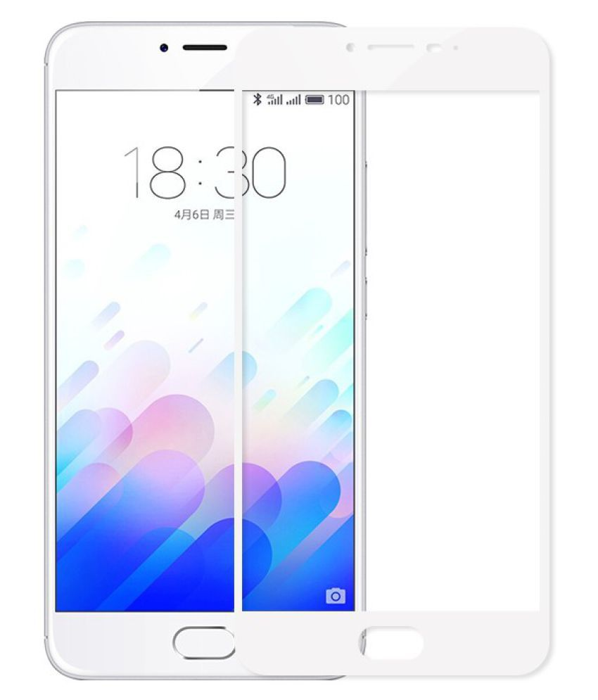 Meizu M3s Tempered Glass Screen Guard By BLACK ARROW