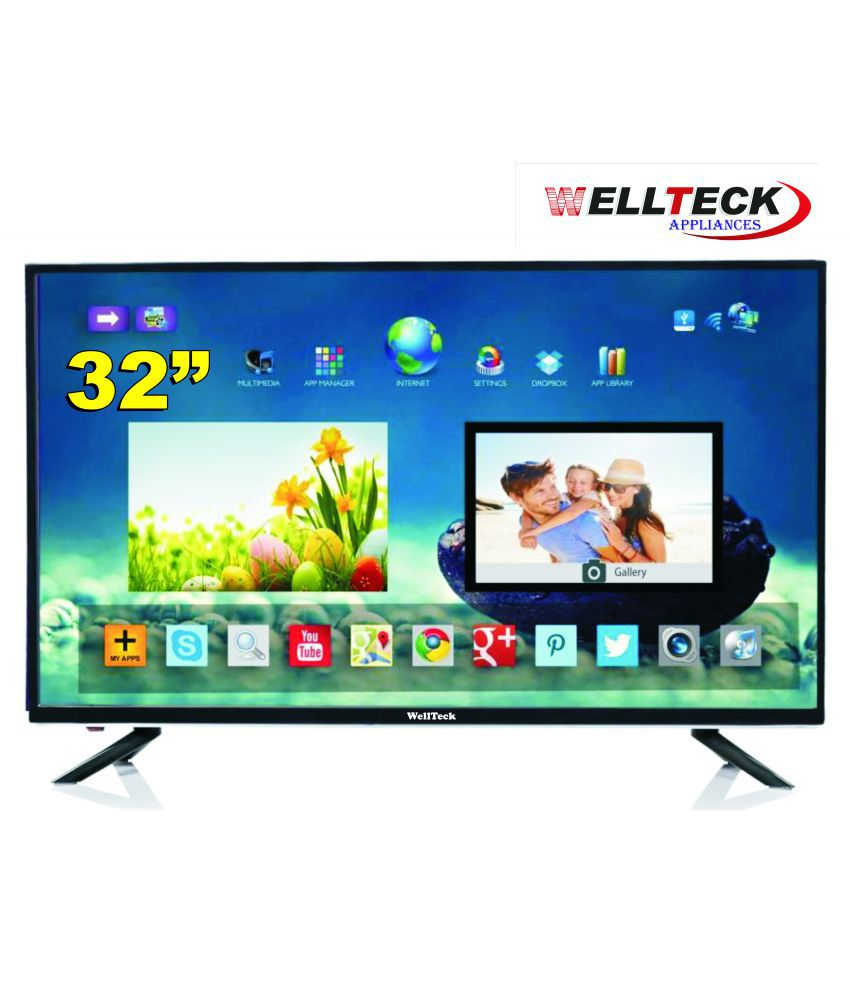 2d72a93fc Buy wellteck WTB3201 80 cm ( 32 ) Full HD (FHD) LED Television With 1+1  Year Extended Warranty Online at Best Price in India - Snapdeal