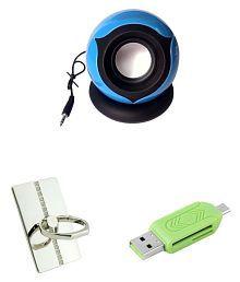 MINIFOX Ring Mobile Stand, Portable Speaker, Otg Portable Speaker