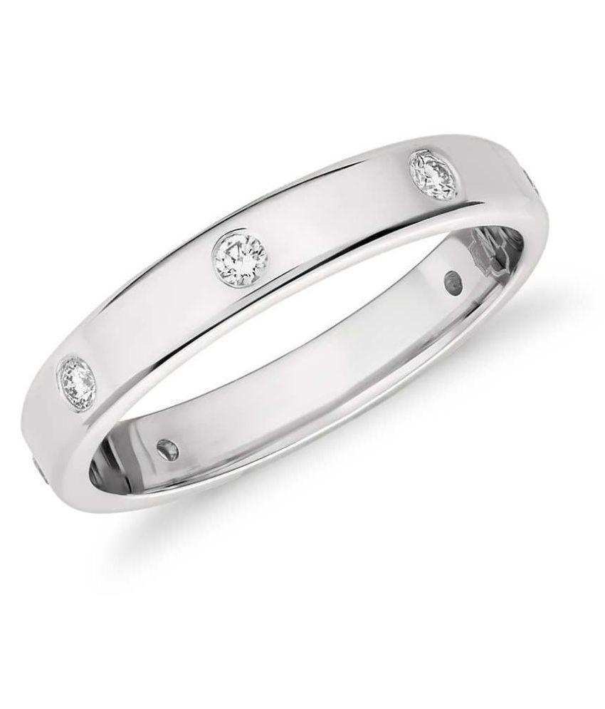 Asset Jewels 92.5 Diamonds Ring