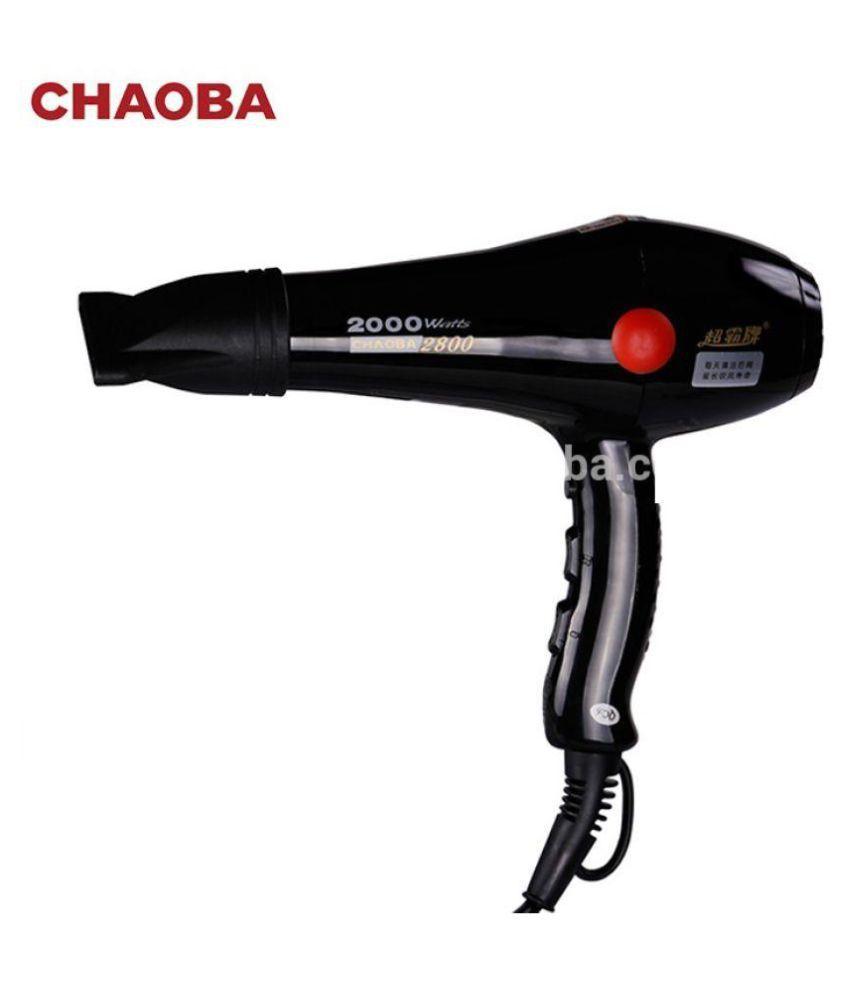 Chaoba 2800 Hair Dryer 2000 W ( Black )