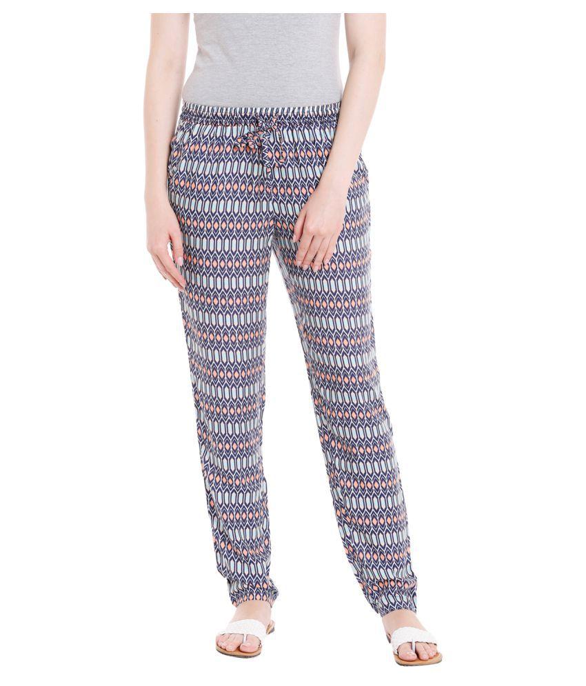 Recap Cotton Pajamas - Navy