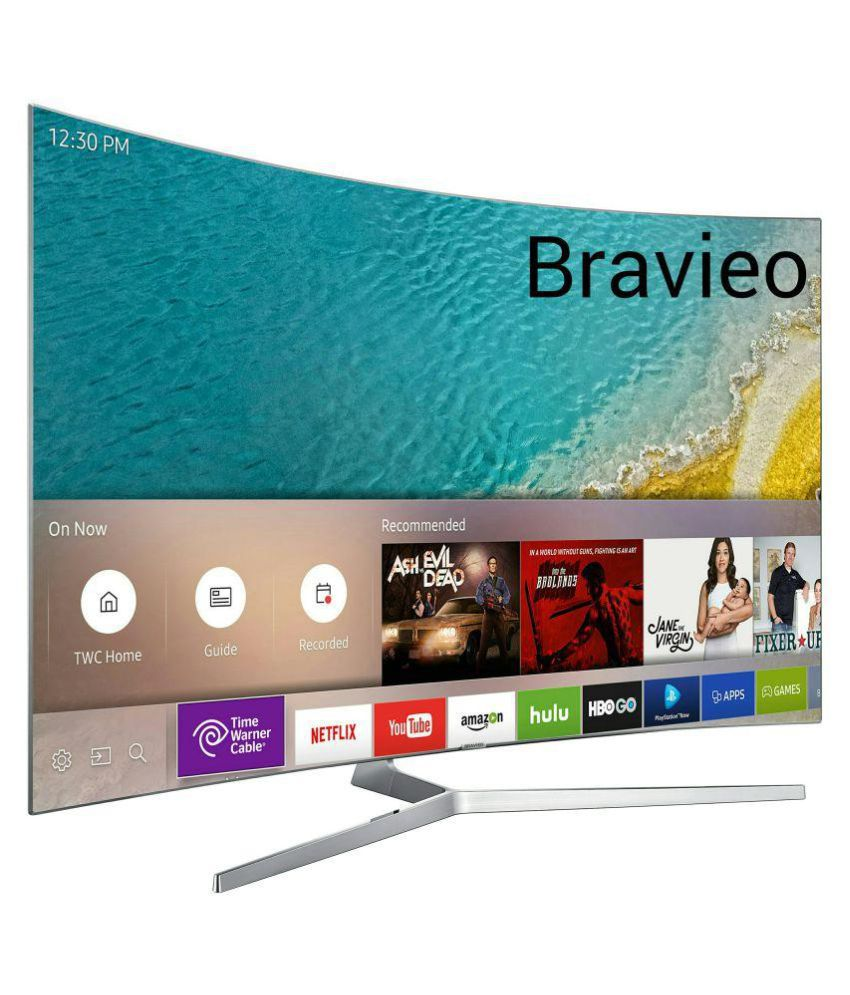 Bravieo KLV-65J5500B 165 cm ( 65 ) Smart Ultra HD (4K) LED Television With 1+1 Year Extended Warranty