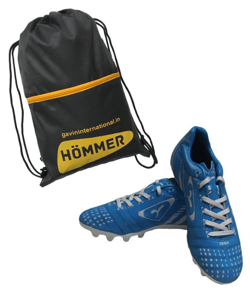 4a5d50470c15 SEGA ELEGANT BLUE WITH SHOES BAG COMBO Blue Football Shoes - Buy SEGA  ELEGANT BLUE WITH SHOES BAG COMBO Blue Football Shoes Online at Best Prices  in India ...