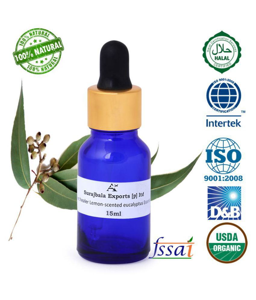Aromatherapy Ancient Healer 100 % Natural Lemon Essential Oil Health & Beauty