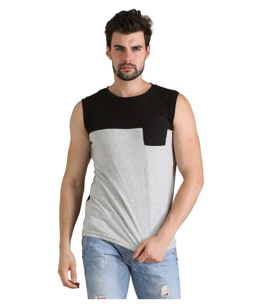 Atheno Grey Round T-Shirt Pack of 1