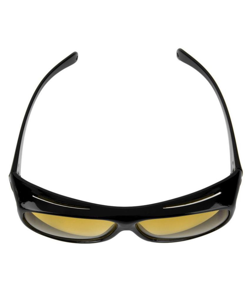 d238daec4d4 ... Night Driving HD Wrap Around NV Night Vision Glasses Goggles For Car    Bike In best ...