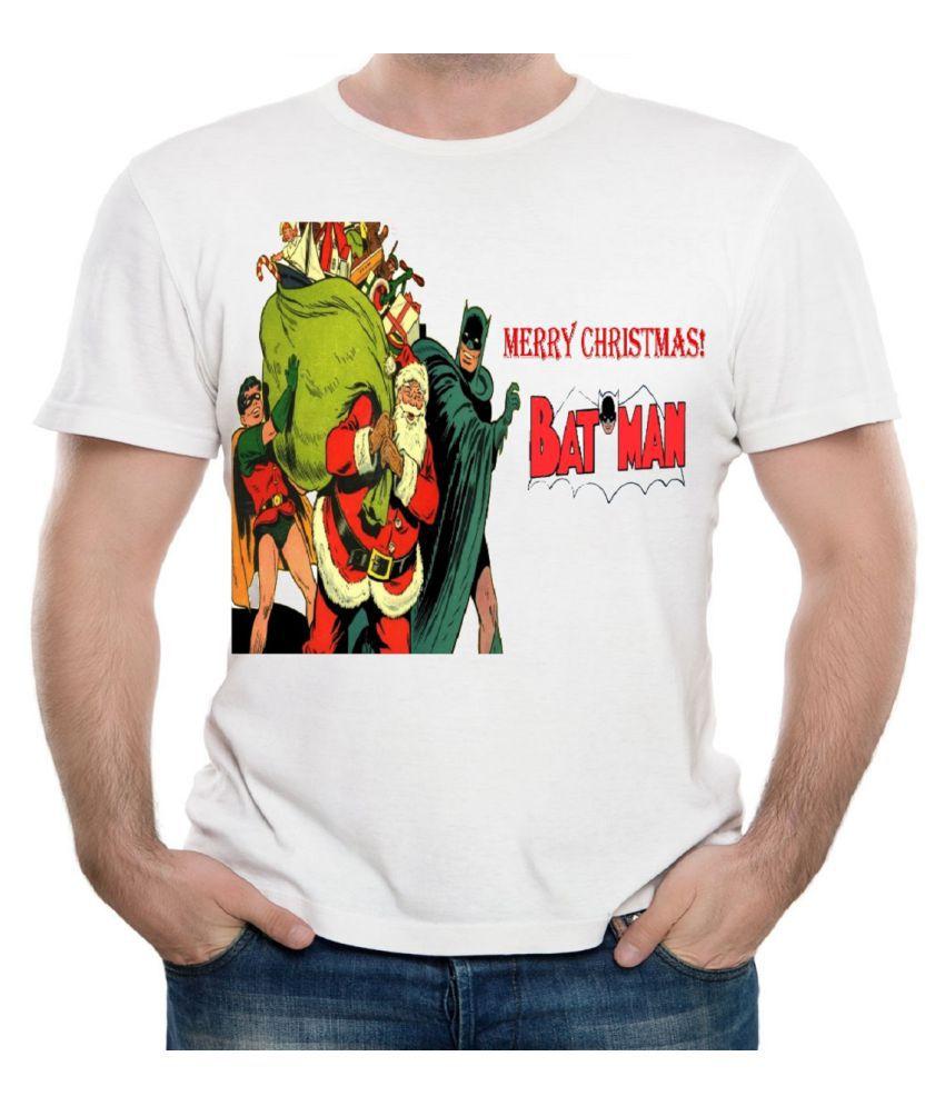 CACA ANP White Christmas Santa Claus T-Shirt