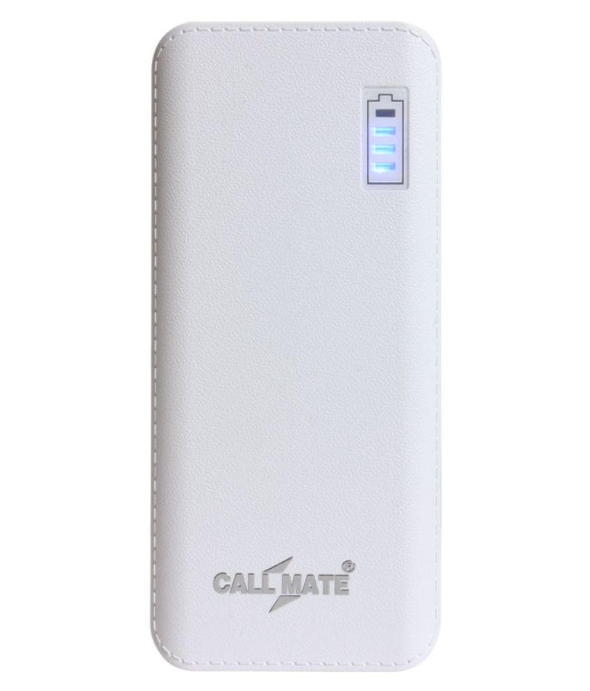 Callmate R5 11000  mAh Li Ion Power Bank White