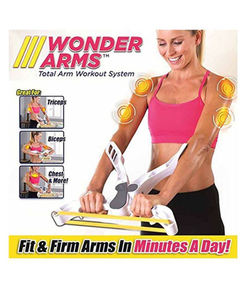 CONNECTWIDE® Wonder Arm Upper Body Workout Machine Upper Arm Exerciser,  Strengthens Brawn Training Device Forearm Wrist Force Fitness Equipment  with 3