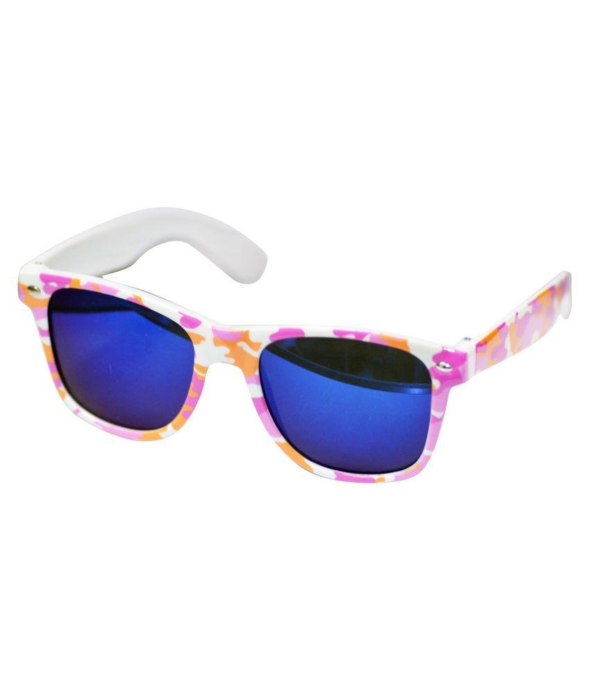 Alpha Man Pink Wayfarer Sunglasses ( AM_SG_CAM )