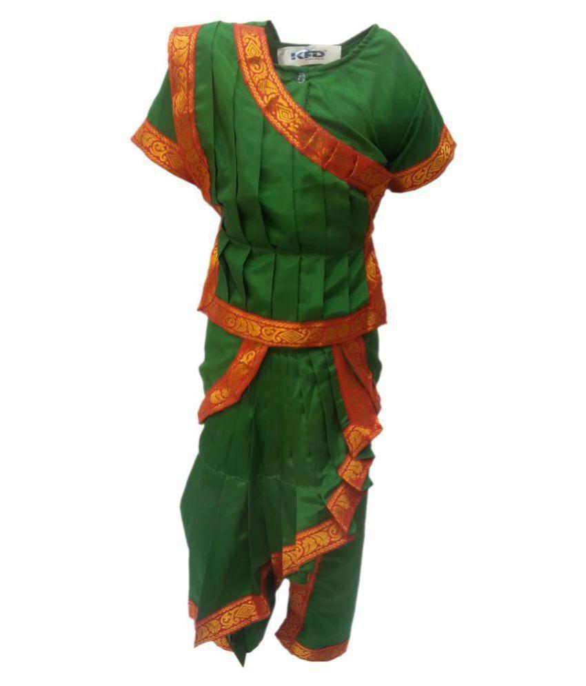 1cb221399c Kaku Fancy Dresses Odissi fancy dress for kids,Indian Dance Traditional Wear  for Annual function ...