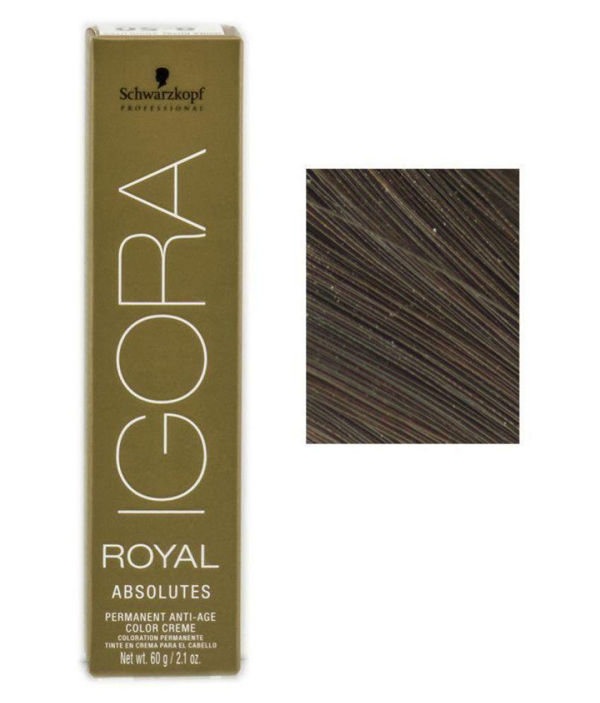 Schwarzkopf Igora Royal Absolutes Hair Color 5 60 Permanent Hair