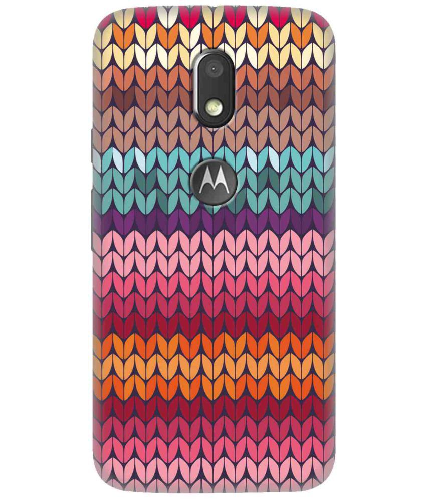 Moto E3 3D Back Covers By TrilMil