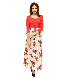 The Bebo Crepe Red Dresses