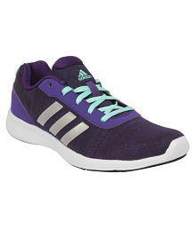 Adidas Purple Running Shoes