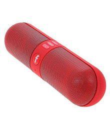 FINTAGIC PILL BLUETOOTH MOBILE & COMPUTER SPEAKER RED Bluetooth Speaker