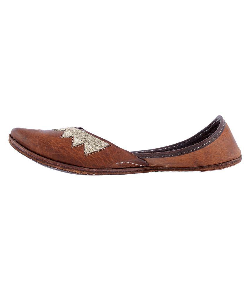 Rajotsav Brown Ethnic Footwear