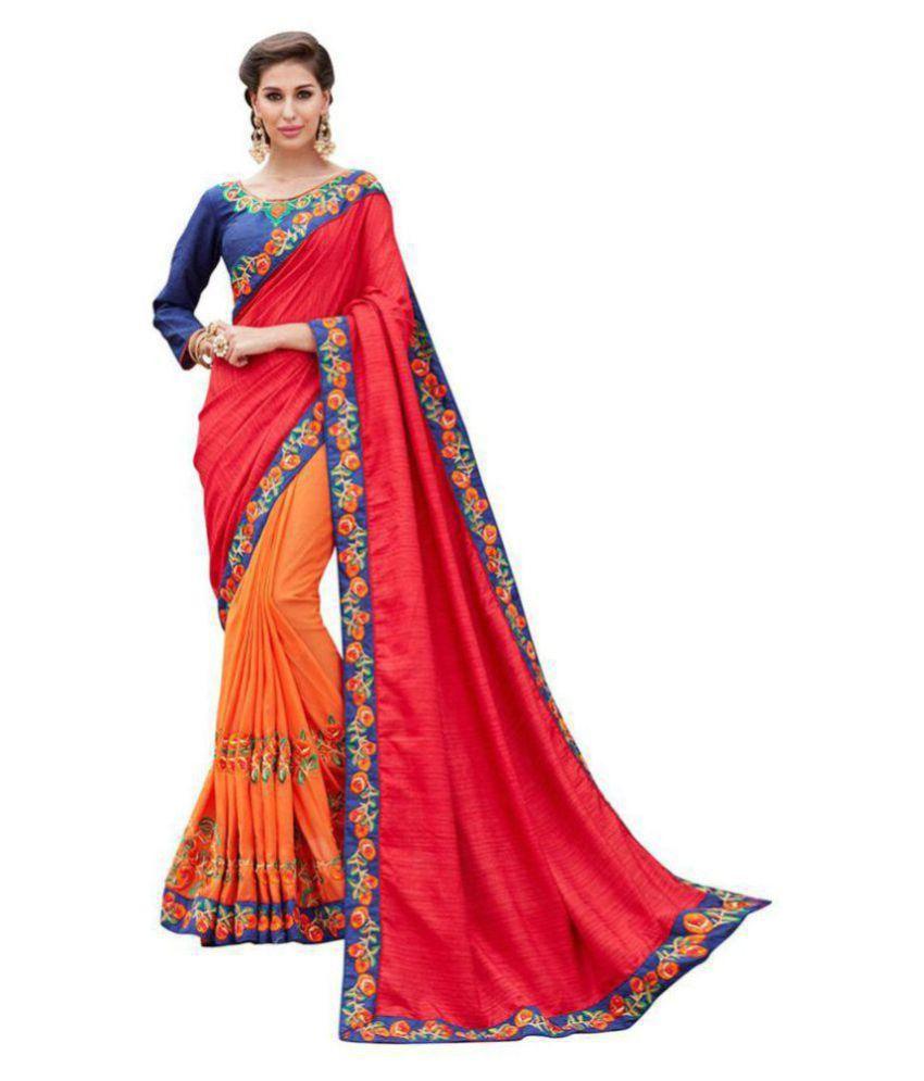 Saree For Beautiful lady Multicoloured Silk Saree