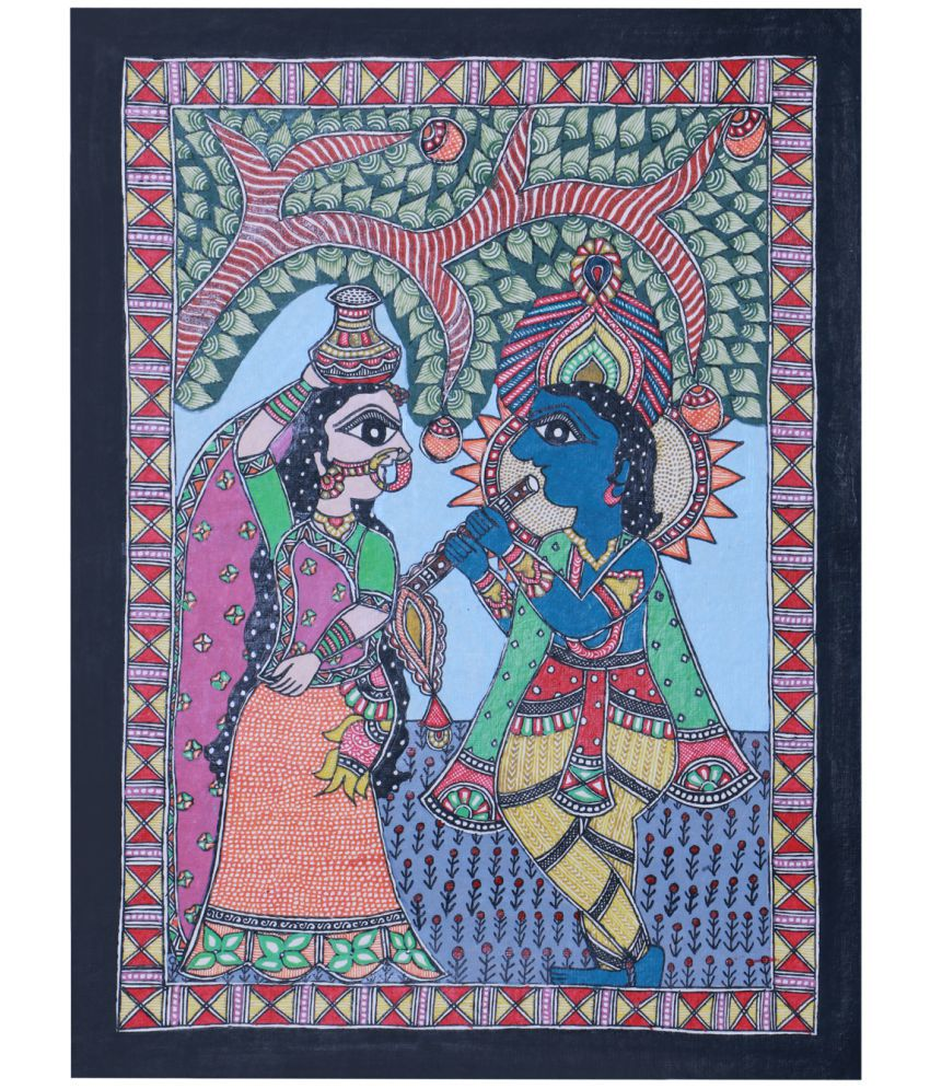 IMITHILA Paper Painting Without Frame