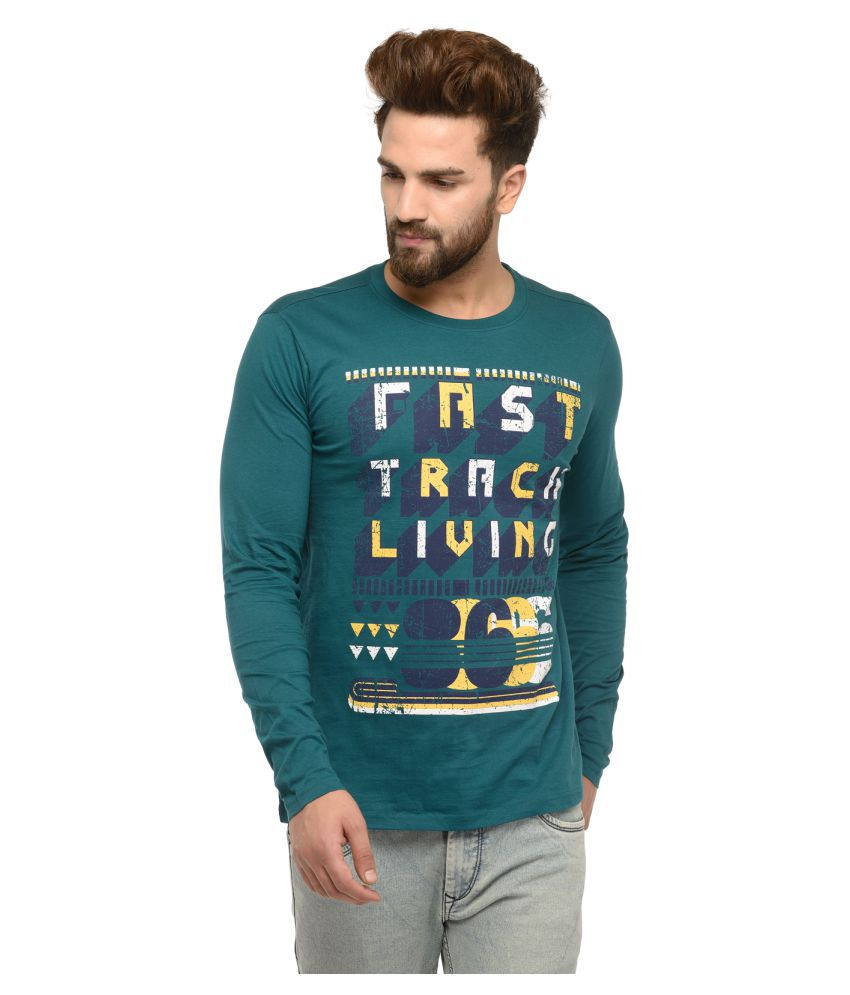 ARKYN Green Round T-Shirt