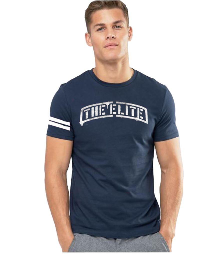 3point0 Navy Round T-Shirt Pack of 1