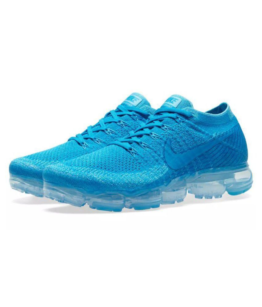 98d2783da41 Nike Air Vapormax Flyknit Blue Running Shoes - Buy Nike Air Vapormax Flyknit  Blue Running Shoes Online at Best Prices in India on Snapdeal