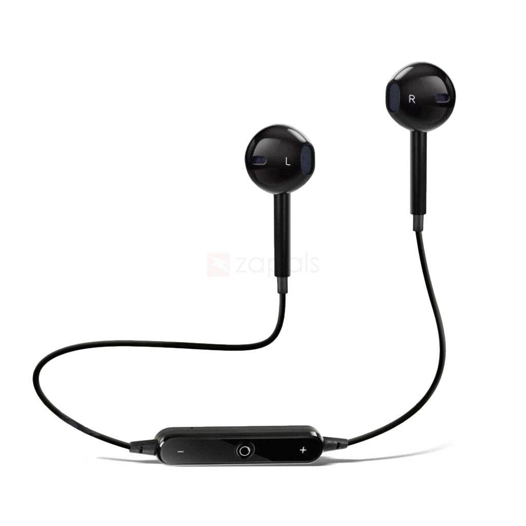 SYL PLUS Samsung Galaxy Grand Max   Wired Bluetooth Headphone Black