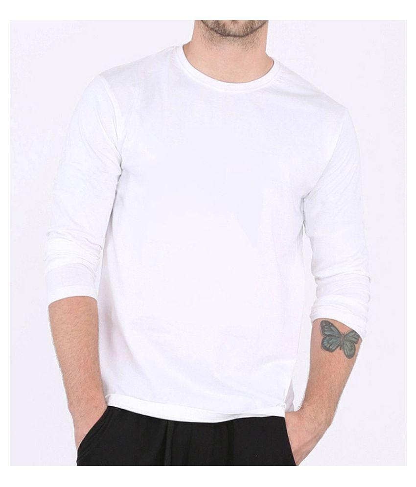 Niva Gifts White Round T-Shirt