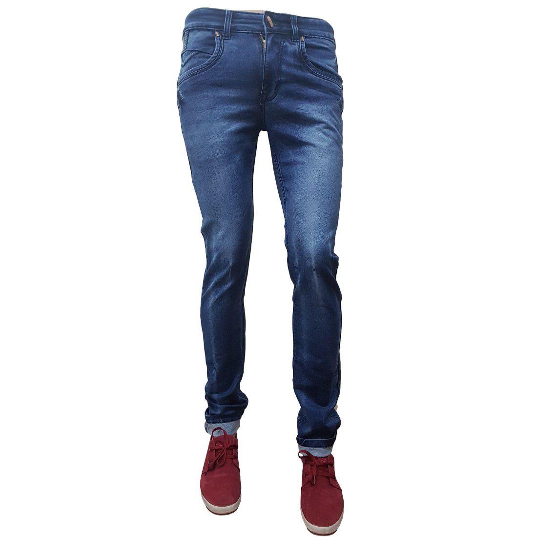 Zipit Dark Blue Slim Jeans