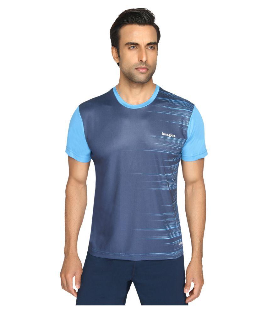 Imagica Blue Round T-Shirt