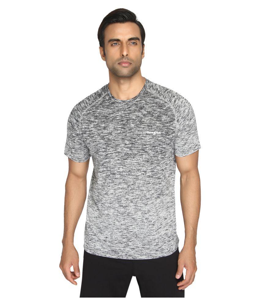 Imagica Grey Round T-Shirt