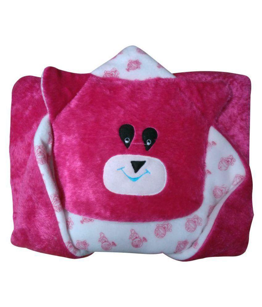 Welo Pink Cotton Sleeping Bags ( 20 cm × 18 cm)