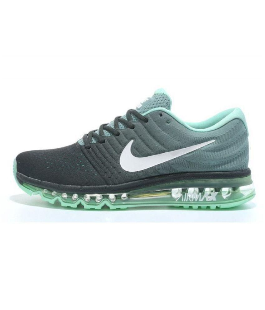456c66f3a178c Nike Air Max 2017 Green Running Shoes - Buy Nike Air Max 2017 Green Running  Shoes Online at Best Prices in India on Snapdeal