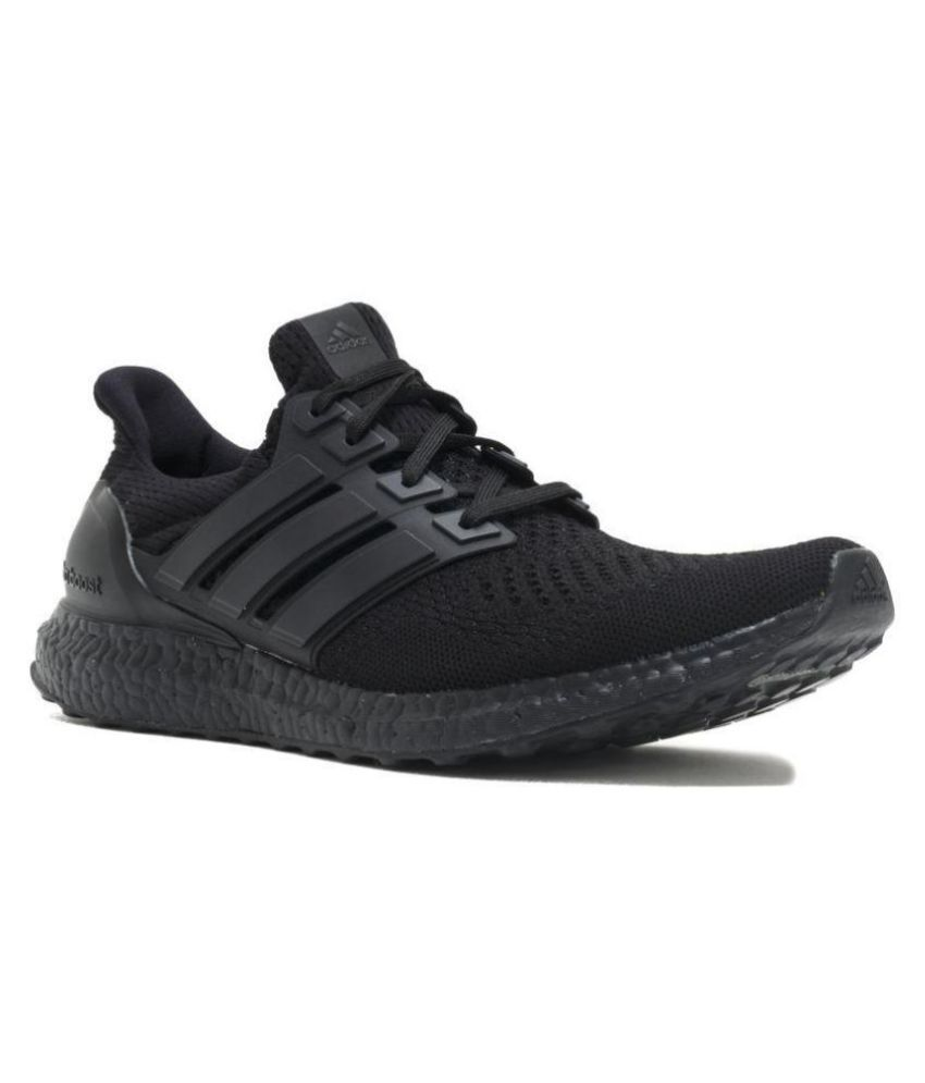 14b5aed4d79 Adidas Ultra Boost Black Running Shoes - Buy Adidas Ultra Boost Black  Running Shoes Online at Best Prices in India on Snapdeal