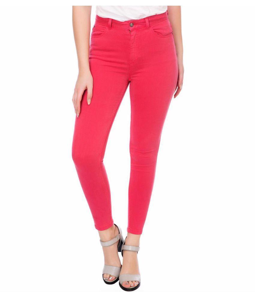 KOTTY Linen Jeans - Pink