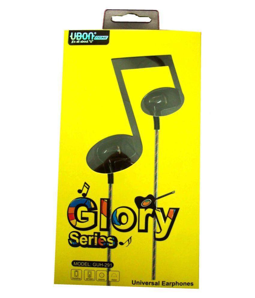88f4e75cd4d UBON Glory Series (GUH-291) Earphone In Ear Wired Earphones With Mic - Buy  UBON Glory Series (GUH-291) Earphone In Ear Wired Earphones With Mic Online  at ...