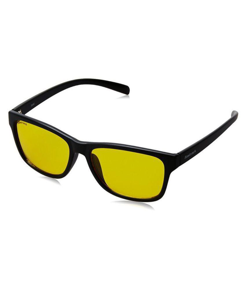 2bed4e8b973 Fastrack Yellow Wayfarer Sunglasses ( P379YL1 ) - Buy Fastrack Yellow  Wayfarer Sunglasses ( P379YL1 ) Online at Low Price - Snapdeal