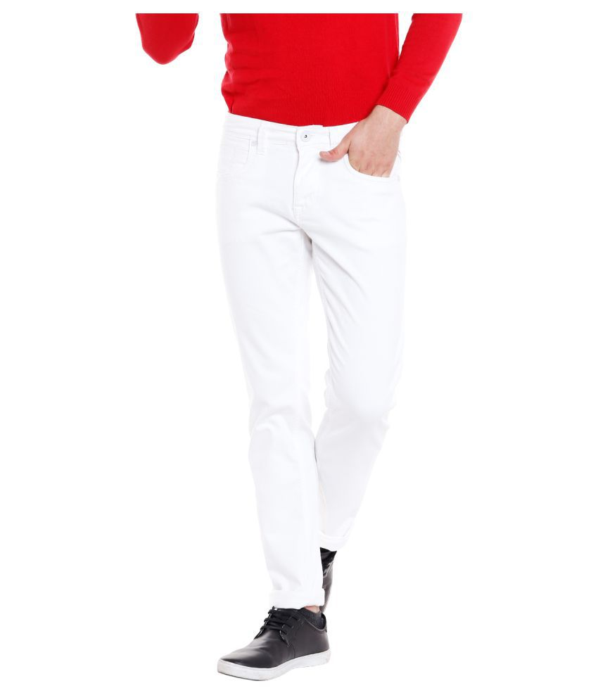 INTEGRITI White Slim Jeans