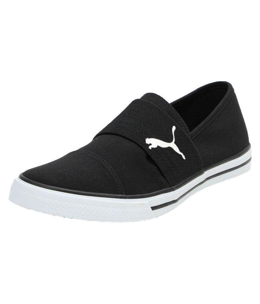 e11a322819e Puma ALPHA SLIP ON CV MEN S Sneakers Black Casual Shoes - Buy Puma ALPHA  SLIP ON CV MEN S Sneakers Black Casual Shoes Online at Best Prices in India  on ...