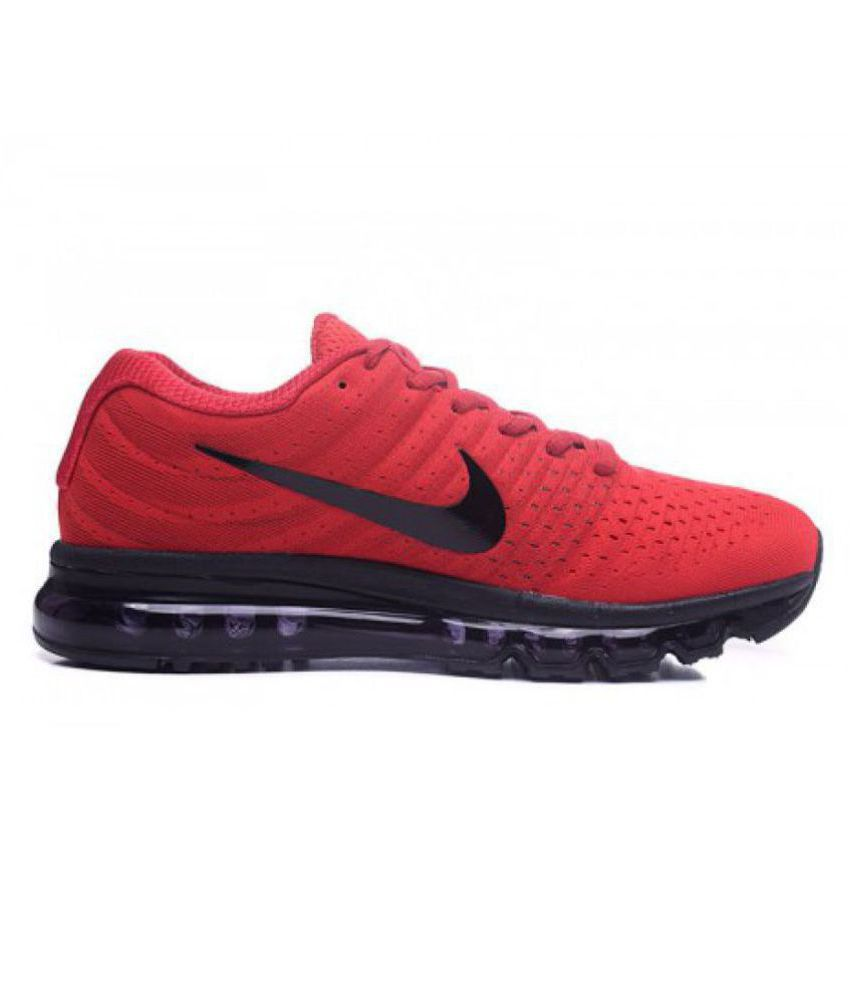 nike air max shoes red colour