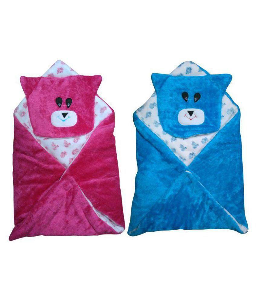 Welo Multi-Colour Cotton Sleeping Bags ( 20 cm × 18 cm)