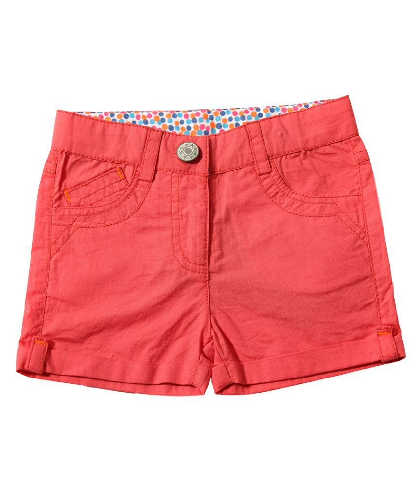 Tiddlywings Cotton Shorts for cute girls on summer vacation.