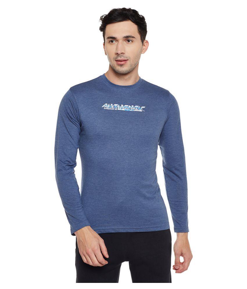 Neva Blue Round T-Shirt