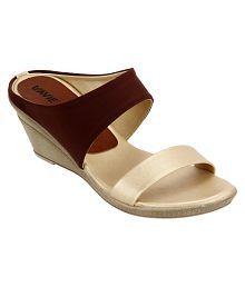 Quick View. Lavie Brown Wedges Heels