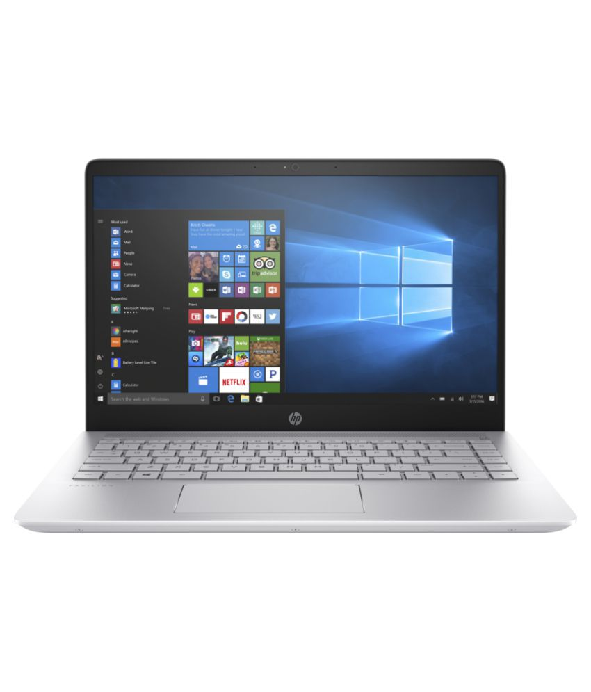 HP Pavilion 14-bf148TX Notebook Core i7 (8th Generation) 8 GB 35.56cm(14) DOS 4 GB Silver
