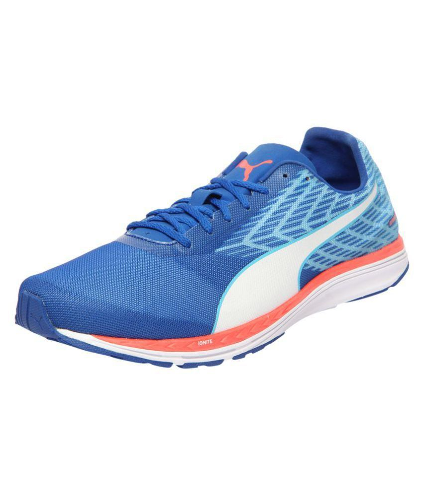 99da54b5524a Puma PEED 100 R IGNITE MENS Blue Running Shoes - Buy Puma PEED 100 R IGNITE  MENS Blue Running Shoes Online at Best Prices in India on Snapdeal