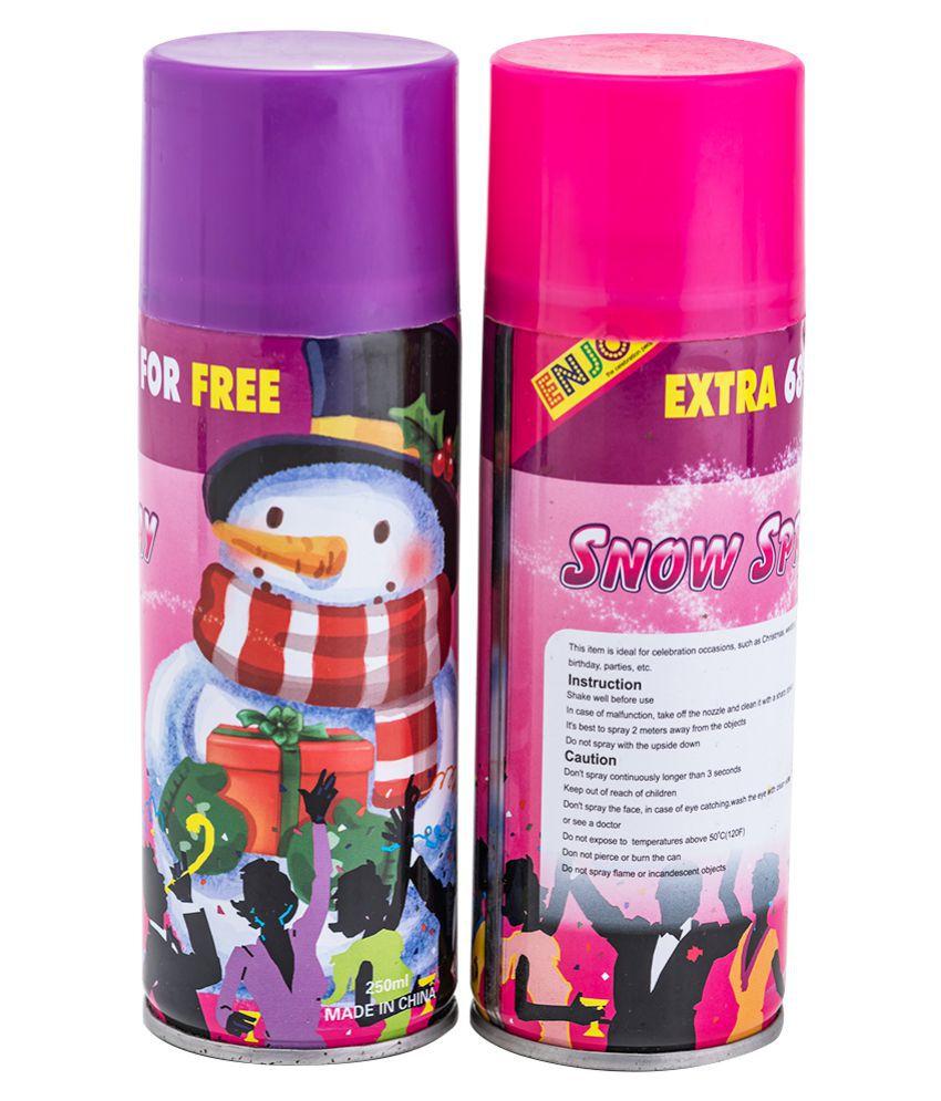 Enjoy White Joker Snow Spray (Pack Of 2)