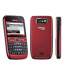 Nokia Black Red E63 128 MB