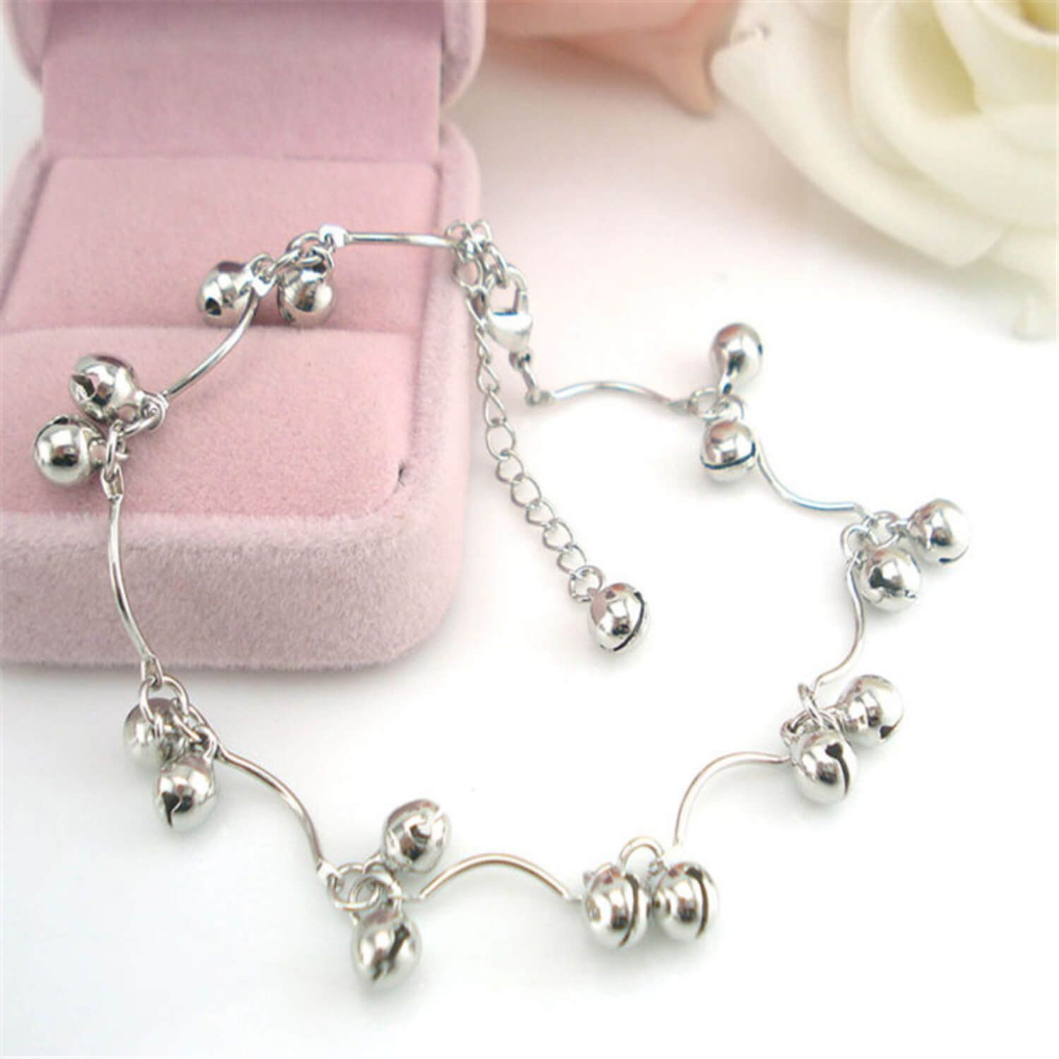 Beautiful Silver Anklet